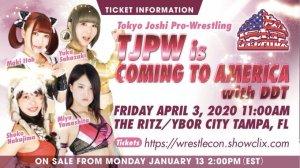 TJPW Wrestlecon
