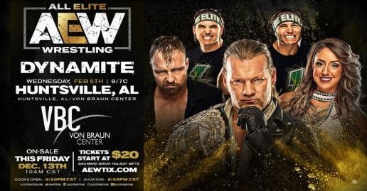 AEW Dynamite Huntsville   Dark & BTE Videos