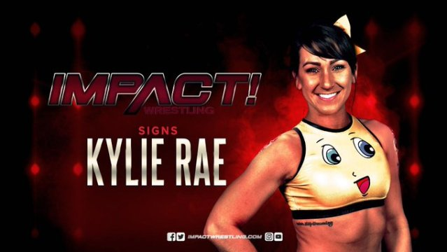 Kylie Rae Signs Long Term Contract With IMPACT