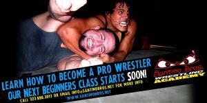 Beginners pro wrestling