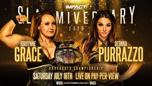 IMPACT Wrestling Slammiversary Updated Card