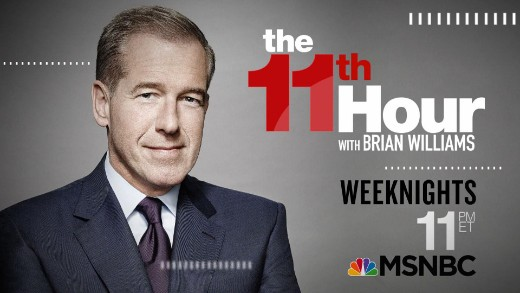 """""""The 11th Hour With Brian Williams"""" Highlights 
