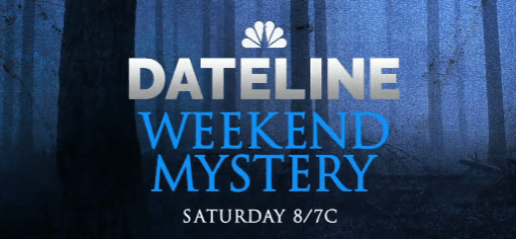 """Dateline NBC Weekend Mystery: """"The Promise"""" Preview 