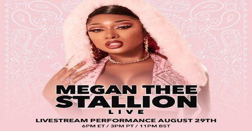 Megan Thee Stallion Live | Virtual Event | August 29
