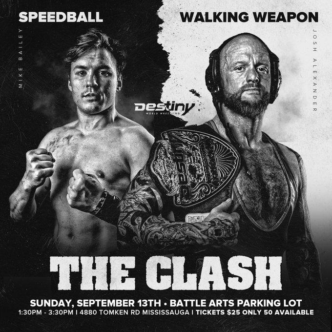 destiny wrestling September 13