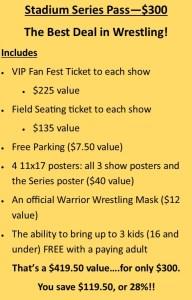 Warrior Wrestling Stadium Series