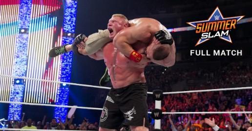 John Cena vs Brock Lesnar SummerSlam 2014 | WWE Free Match