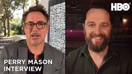 HBO Perry Mason Interview | Robert Downey Jr & Matthew Rhys Posted