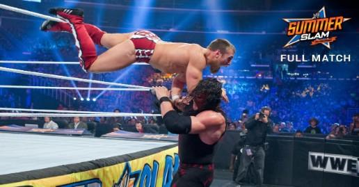 Daniel Bryan vs Kane SummerSlam 2012 | WWE Free Match