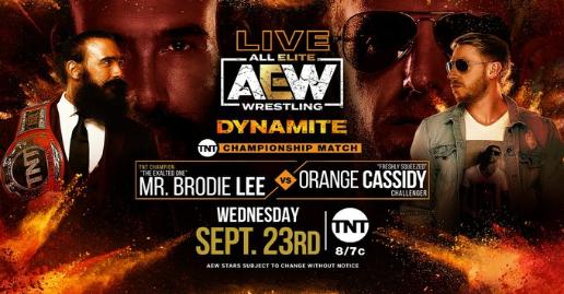 AEW Dynamite September 23 Preview   All Elite Wrestling