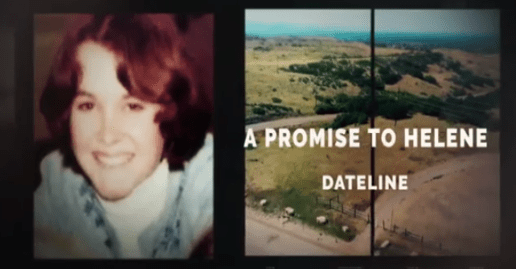 """Dateline NBC: """"A Promise to Helene"""" Preview 