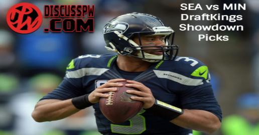 NFL Week 5 DFS DraftKings Showdown Picks | Min at Sea