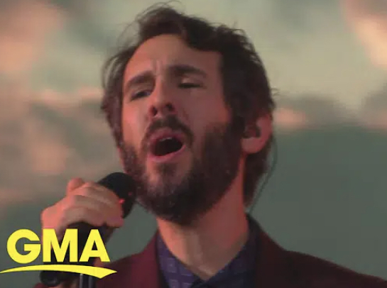 """Josh Groban performs """"The Impossible Dream"""" on GMA"""