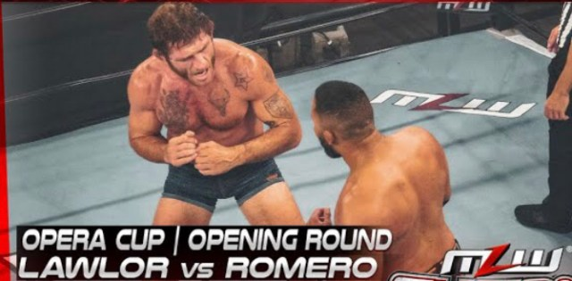 MLW Fusion #111 Opera Cup Opening Round   Lawlor vs Romero