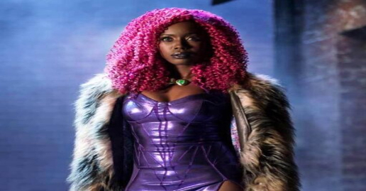 "HBO Max Reveals New Starfire Costume for Season 3 of DC's ""Titans"""
