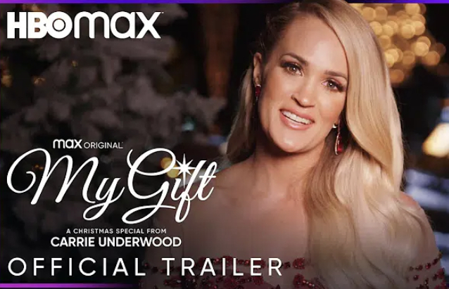 My Gift: A Carrie Underwood Christmas Special Official Trailer Posted