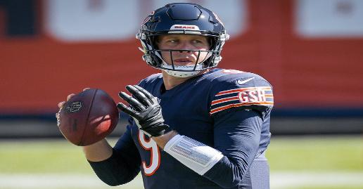 NFL DraftKings Week 10 MNF Showdown Picks | Vikings vs Bears