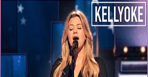 "Kelly Clarkson covers Chicago's ""Hard To Say I'm Sorry"""