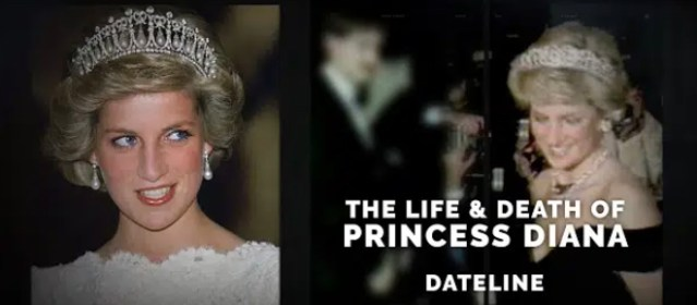 """Dateline NBC: """"The Life & Death of Princess Diana"""" Preview 
