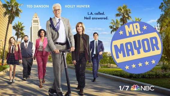 """First Look at NBC's """"Mr. Mayor"""" with Ted Danson Now Available"""
