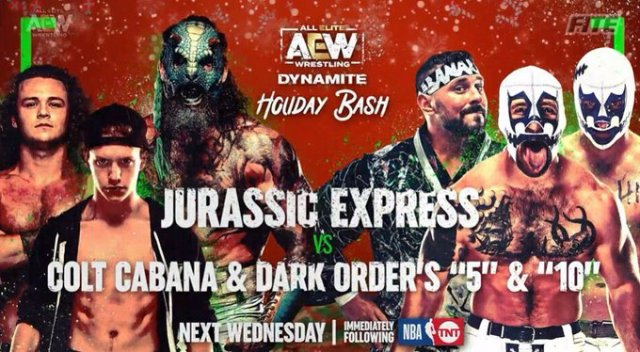 "AEW Dynamite ""Holiday Bash"" Updated Card & AEW Dark"