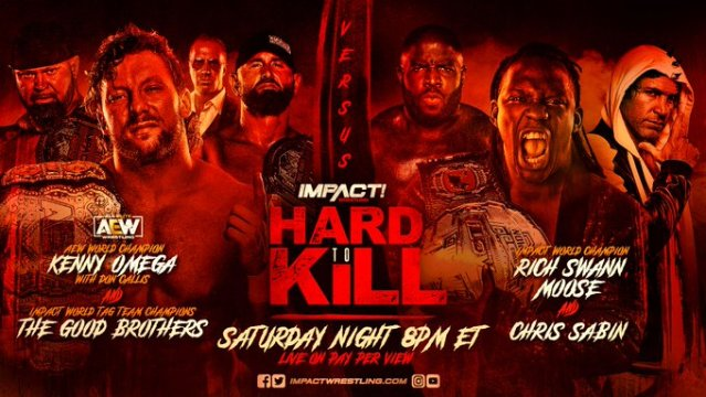 """IMPACT Wrestling """"Hard To Kill"""" Updated Card"""
