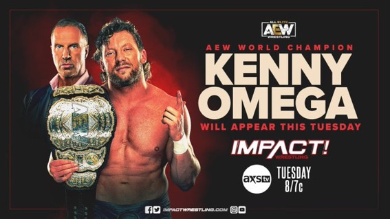AEW World Champion Kenny Omega to appear on IMPACT Next Week
