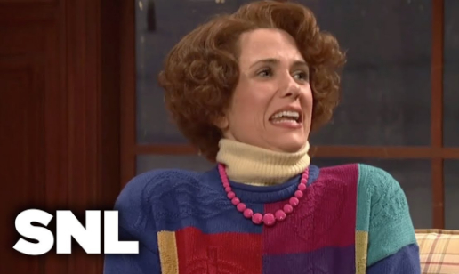 """""""Best of Kristen Wigg"""" on Saturday Night Live (SNL) posted by Peacock"""