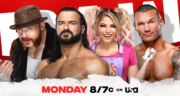 WWE Monday Night Raw March 22 2021 Preview