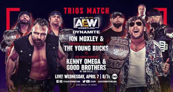 AEW Dynamite April 7 2021 Preview   All Elite Wrestling