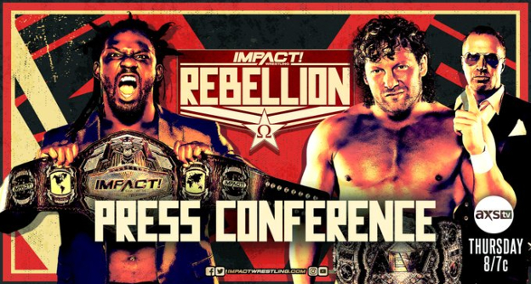 """""""Rebellion"""" Press Conference Announced for this Week's IMPACT"""