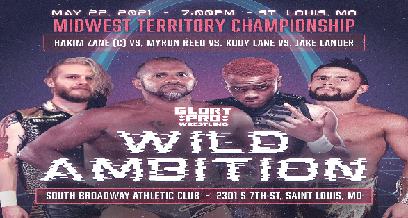 "Updated Card for Glory Pro Wrestling's ""Wild Ambition"""