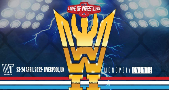 "Tickets ""For the Love of Wrestling 2022"" in Liverpool are Now Available"