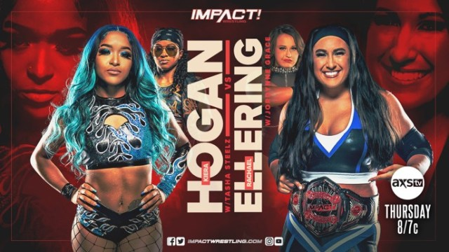 New IMPACT Backstage & Updated Card for this Week's Episode