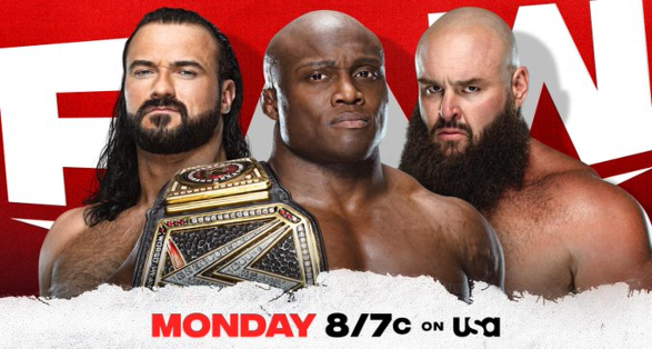 Updated Card for WWE Monday Night Raw on May 3rd