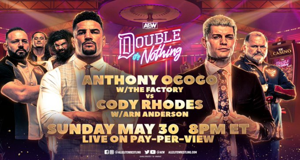 AEW World Title Match & More set for Double or Nothing | Updated Card
