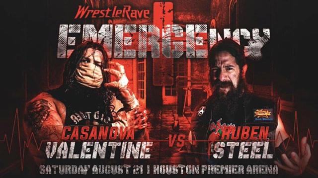 """Updated Card for """"WrestleRave: EMERGEncy"""" in Houston on August 21"""