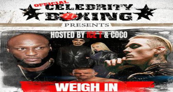 Odom vs Carter Celebrity Boxing Weigh-In to Air Free on FITE