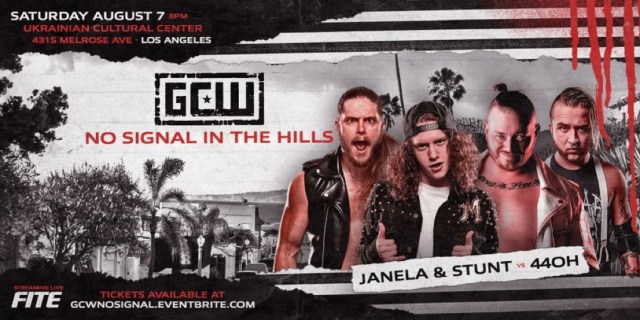 Updated Card for GCW Los Angeles Event