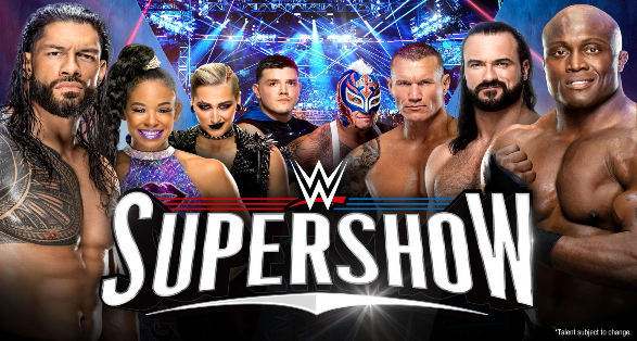 Matches set for WWE Supershow in Hershey Pennsylvania