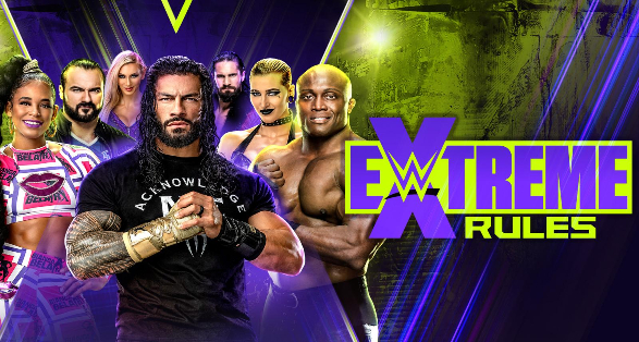 """WWE """"Extreme Rules"""" 2021 in Columbus Ohio 