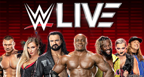 WWE Live in North Charleston South Carolina on September 18 2021