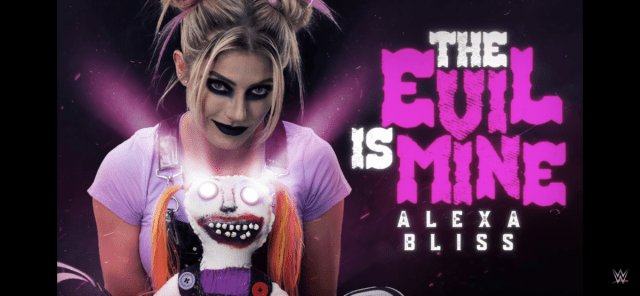 """New Alexa Bliss Official WWE Entrance Theme """"The Evil is Mine"""""""