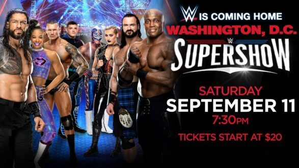 WWE Supershow in Washington DC Results   September 11 2021