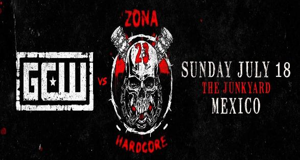 GCW (Game Changer Wrestling) vs Zona 23 | The Junkyard in Mexico