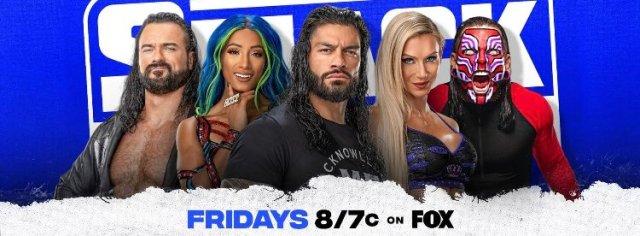 WWE SmackDown in Wichita Kansas on October 22 2021