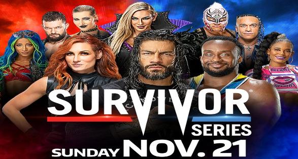WWE Survivor Series in Brooklyn New York on November 21 2021