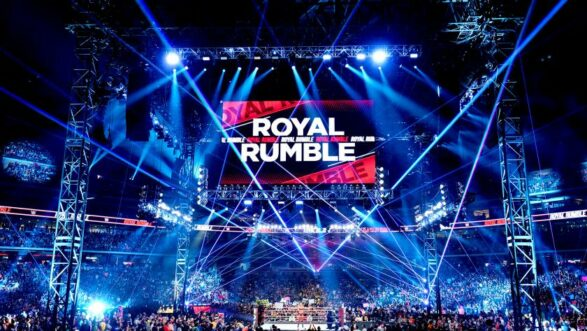 WWE Royal Rumble 2022 in St. Louis Missouri on January 29