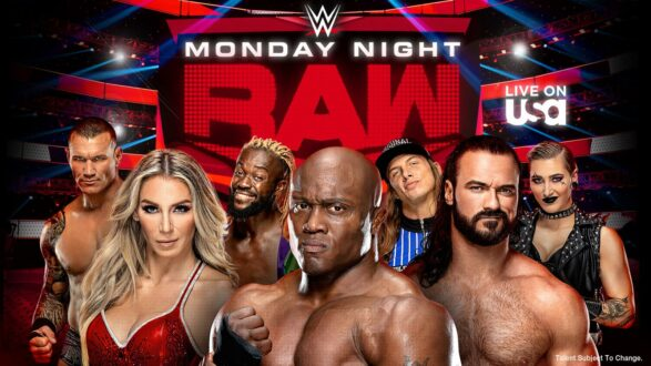 WWE Monday Night Raw in Memphis Tennessee on December 6 2021