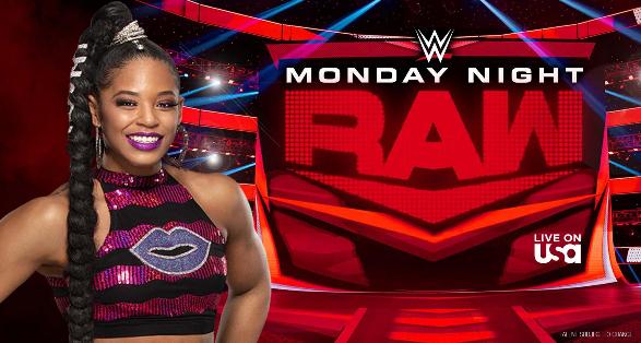 WWE Monday Night Raw in Detroit Michigan on December 27 2021
